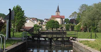 Location péniche Franche Comté